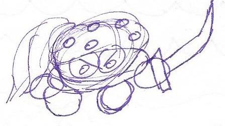 Bandana Enemy Sketch