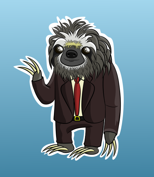 Suited Sloth